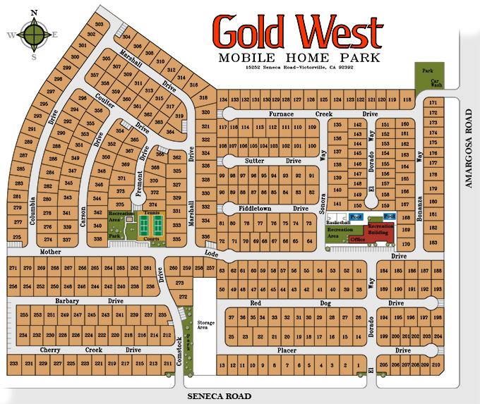 Gold West Apartments Site Plan - click for larger image